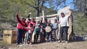 Comunidad Buenuleo: cuatro detenidos por la agresión