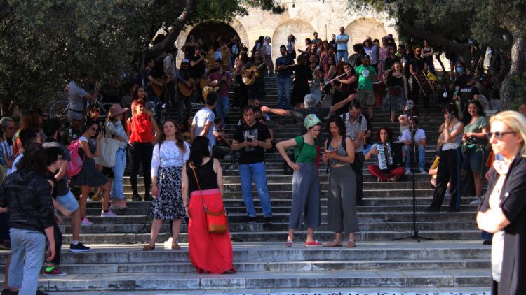 Vom Taksim-Platz zu den Stufen des Odeon von Herodes Atticus