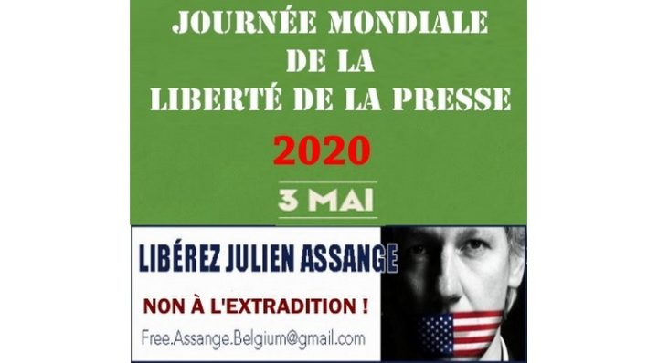 May 3rd, World Press Freedom Day: let's cry out 'Free Julian Assange!'