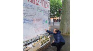 1 de mayo: Manifestaciones frente a las rejas, «manifestantes» detrás de barrotes