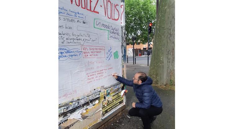 1er mai : Manifestations devant les grilles, « manifestants » derrière les barreaux