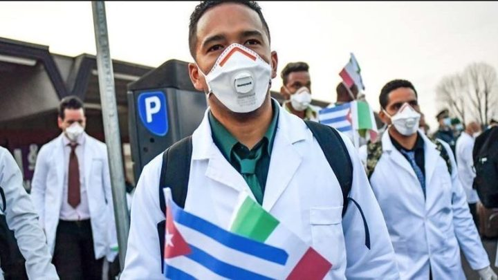 "Call: ""Nobel Peace Prize for the Cuban doctors"""