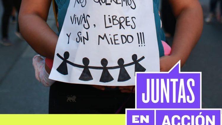 violencia de género mujeres juntas en acción chile