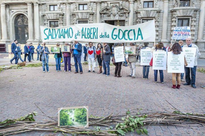 Coronavirus, l'attivismo non si è fermato – 17. Luciana Bordin del Comitato La Goccia di Milano