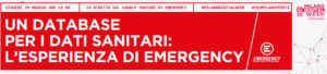 "Milano digital week, webinar: ""Un database per i dati sanitari. L'esperienza di Emergency"""