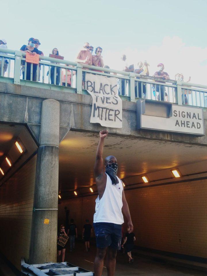Fotoreportaje de las manifestaciones de hoy en Estados Unidos