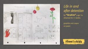 Die Zeichnungen der Jungen offenbaren das kaputte griechische Strafvollzugssystem
