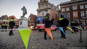 Netherlands protesters call for removal of colonial-era statue