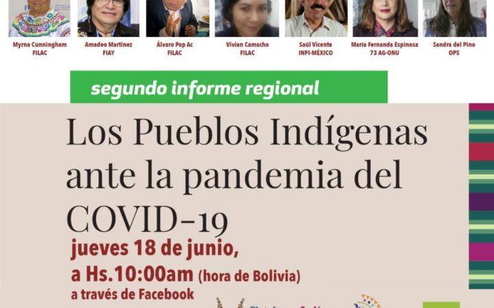 Segundo Informe Regional sobre Situación de los Pueblos Indígenas de América Latina y el Caribe frente a la COVID-19
