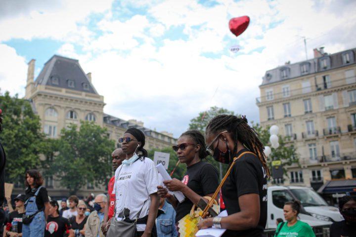 Las manifestaciones contra el racismo se suceden en París