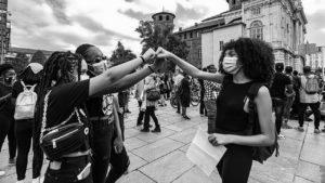 Black Lives Matter: un lungo pomeriggio di proteste a Torino