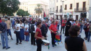 Cagliari: partecipazione e denuncia alla manifestazione per la Palestina