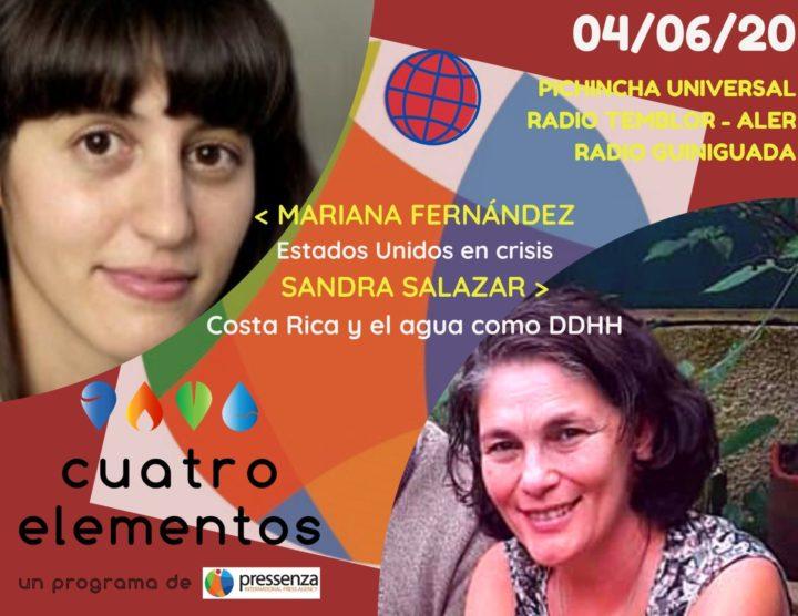 Cuatro Elementos del 04/06/2020 Costa Rica y Estados Unidos