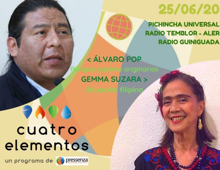 Cuatro Elementos del 25/06/2020 Filipinas y riesgos para pueblos originarios de COVID-19