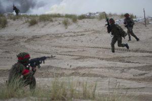 Kriegsübung trotz Pandemie (II)