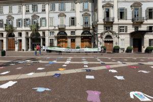 Extinction Rebellion: flashmob a Torino dopo la pandemia
