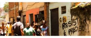 Demoliciones en plena pandemia en el Metro Mangueira, Rio de Janeiro