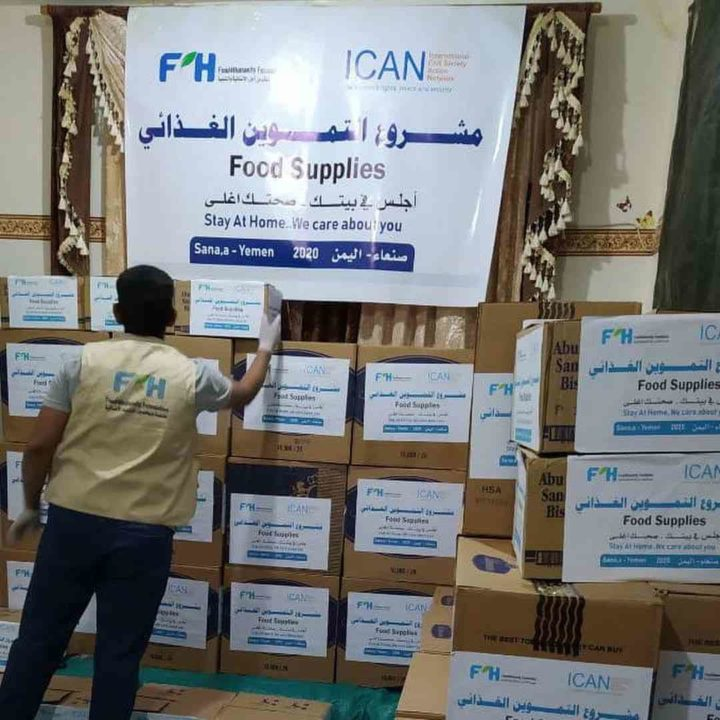 """Wie """"Food4Humanity"""" zur Lebensader des Jemen inmitten von Krieg und der Covid- 19-Pandemie wird"""