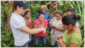 Plataforma del Proyecto Amazonía 2.0 para la visualización de presiones y amenazas en territorio