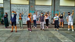 I Can't Breathe – Flash Mob a Torino