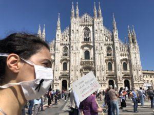 #salviamolalombardia a Milano: l'associazionismo protesta
