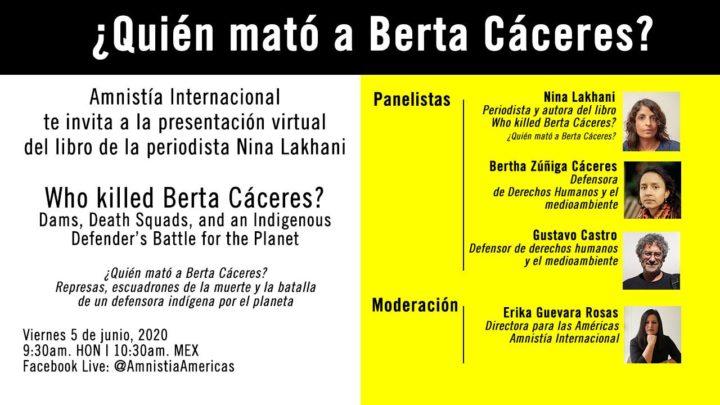 Chi ha ucciso Berta Cáceres?