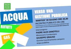 Provincia di Pesaro e Urbino, incontro pubblico online: verso una gestione pubblica dei servizi