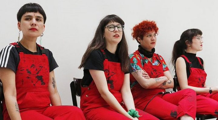 "Strong Support for the Feminist Collective ""Las Tesis"""