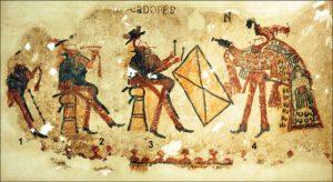 Die Maya-Wandmalereien aus Chajul, Guatemala