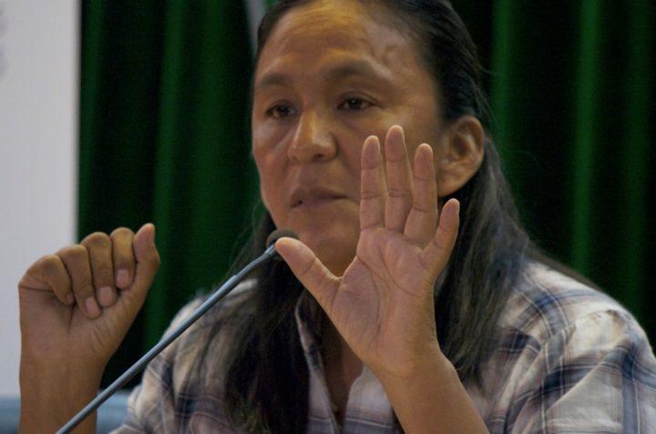 """Milagro Sala: """"Mutter Erde bittet uns um mehr Solidarität und weniger Gewalt gegenüber anderen"""""""