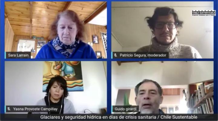 Pandemia reinstala urgencia de proteger los glaciares como reservas de agua dulce en Chile