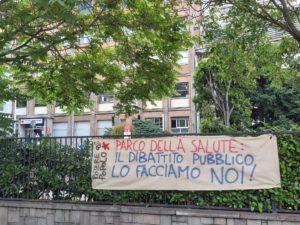 Torino: Potere al Popolo contro il Parco della Salute