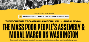 Poor People's Campaign Action:  Assembly and Moral March on Washington