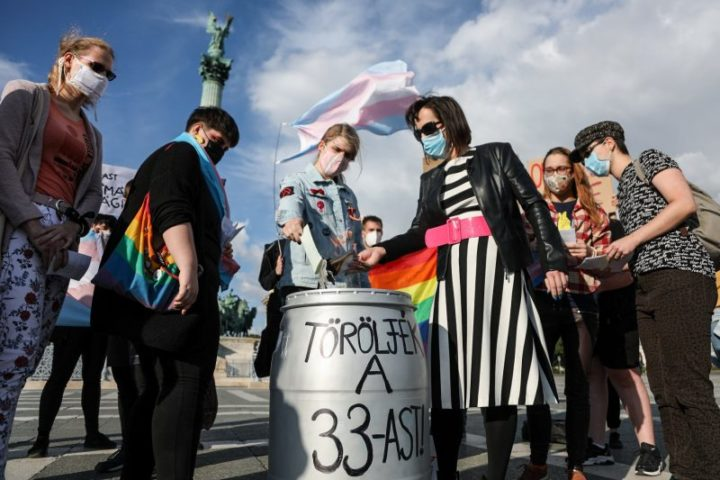 New law forces Hungarian transgender people to choose exile