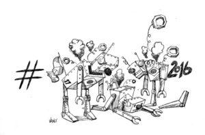 Os robôs estão quebrados!!!!