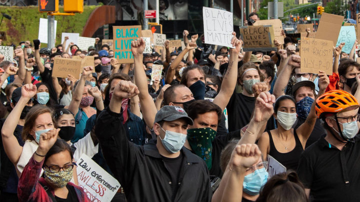 'This Is Incredible': Enormous Crowds Flood Streets Across US Demanding End to Police Brutality and Justice for George Floyd