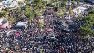 Milhares saem às ruas em SP contra escalada fascista de Bolsonaro