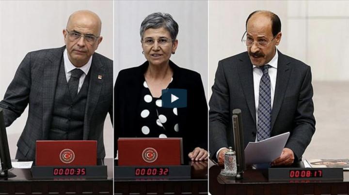 Turchia, 3 parlamentari in custodia cautelare