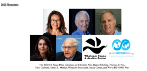 2020 US Peace Prize Nominees