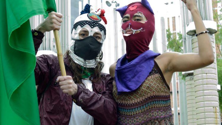 Plantón por la Vida de las Mujeres en Medellín