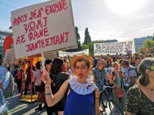 Φωτογραφίες από το συλλαλητήριο στο Σύνταγμα για την Ημέρα Περιβάλλοντος
