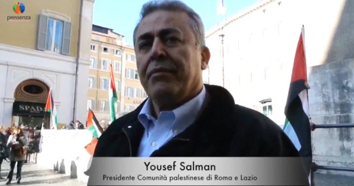 Mo. Salman (comunità palestinese): sabato sit-in contro il piano di Israele in Cisgiordania