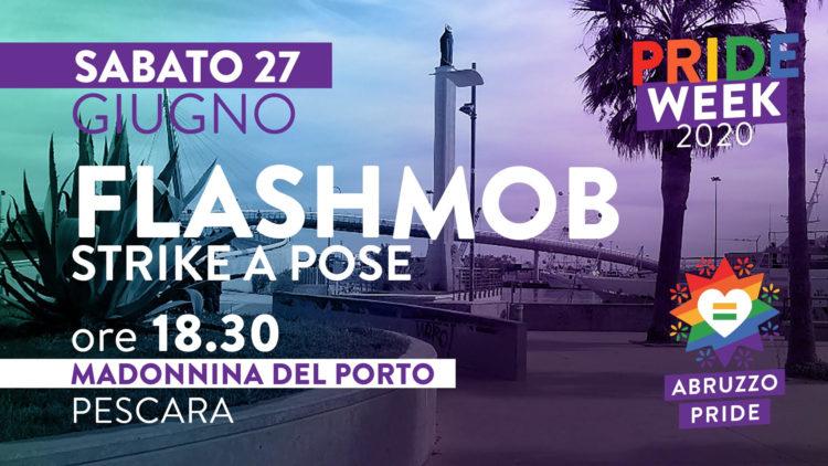 flash mob Abruzzo Pride 2020