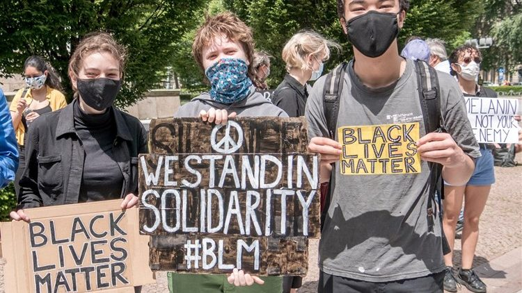 Black Lives Matter Demo in Budapest