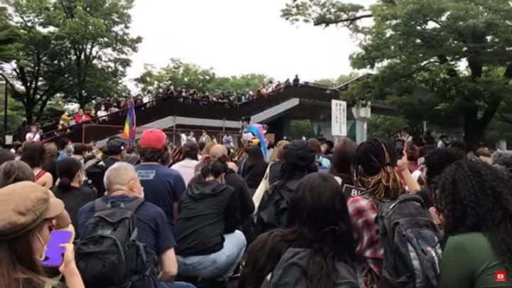 June 2020, a month of #BLM in Japan