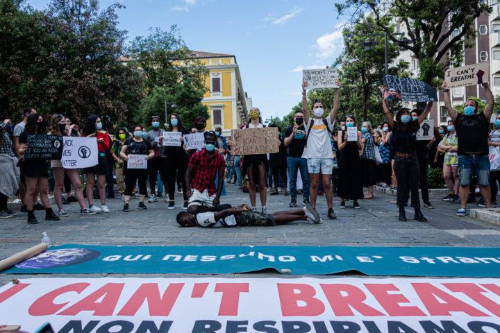 Black Lives Mattera a Pescara, foto di Benedetta La Penna