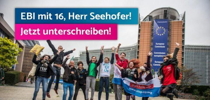 Europäische Bürgerinitiative auch für Jugendliche!