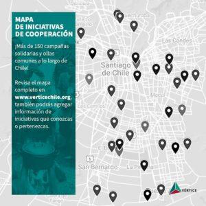 ¿Necesitas ayuda o quieres ayudar? Mapa georreferenciado de campañas solidarias y ollas comunes en Chile