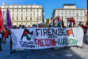 Firenze solidale col popolo palestinese