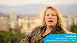 [Chile-Argentina] Conversando con la senadora Andrea Blandini